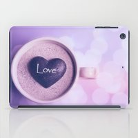 A cup of love iPad Case