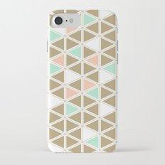 Colored Triangles Slim Case iPhone 7