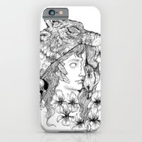 iPhone & iPod Case featuring Wolf Like Me by Julia Marshall