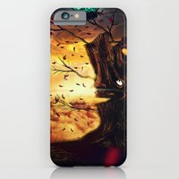 iPhone & iPod Case featuring The Last Autumn by Ricardo Ajcivinac