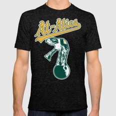 Hothland At-Atics Mens Fitted Tee Tri-Black SMALL