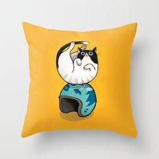 The Wegg Cat Throw Pillow