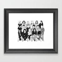 The Kids Framed Art Print