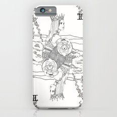 The Queen (Twins) - Black/White iPhone 6s Slim Case
