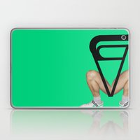 Show up late / leave early syndrome Laptop & iPad Skin