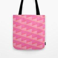 Pink Ascent Tote Bag