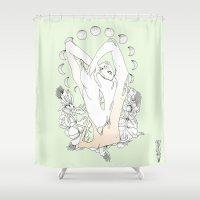 P H A S E S  Shower Curtain