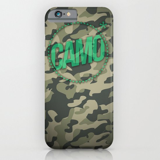Camo iPhone & iPod Case