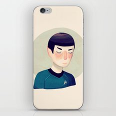 Because You Are My Friend iPhone & iPod Skin