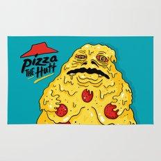 Pizza The Hutt Rug
