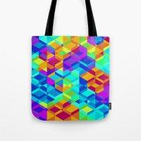 Geometric colour Tote Bag