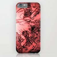iPhone & iPod Case featuring THE VORTEX RECKONING by westeban~OZ - KP Westlake