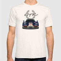 1995 McLaren F1 GTR Le M… Mens Fitted Tee Natural SMALL
