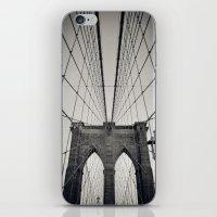 Brooklyn Bridge B/W | Ne… iPhone & iPod Skin