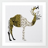 FabCreature · CaDeerPa 4 Art Print