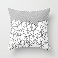 Ab Lines 45  Throw Pillow