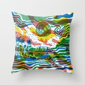 Summer Road Throw Pillow