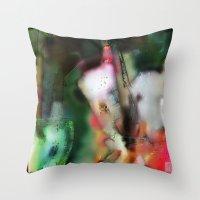 Breath Art #5  Throw Pillow