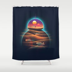 Droid-land Shower Curtain
