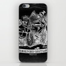 Yikes Bikes! [On Black] iPhone & iPod Skin