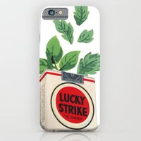 iPhone & iPod Case featuring Lucky Leaves by Felicia Piacentino