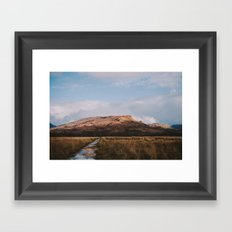 Trail through the Scottish Highlands Framed Art Print