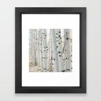 Aspen II Framed Art Print