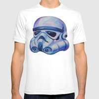 Stormtrooper Baby Mens Fitted Tee White SMALL
