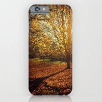 iPhone & iPod Case featuring Autumn Gold by KunstFabrik_StaticMovement Manu Jobst