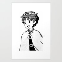 anime Art Prints featuring ANIME by PROXIMO