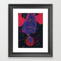 uprainy Framed Art Print