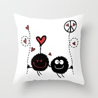 Love & Peace Throw Pillow