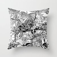 Destroyer Throw Pillow