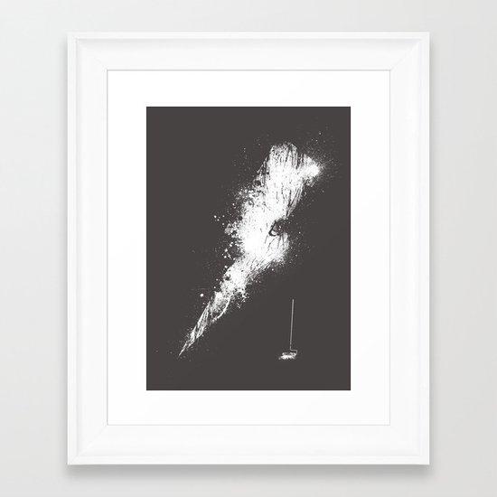 Bolt 2 Framed Art Print