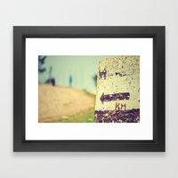 Km 28 Framed Art Print