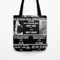 #2-B Memphis Wrestling W… Tote Bag