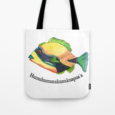 H Is For Humuhumunukunuk… Tote Bag