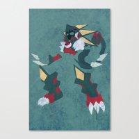 Gregar Beast Out Canvas Print