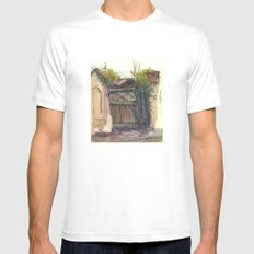 Secret door Mens Fitted Tee White SMALL