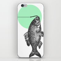 mint bubble iPhone & iPod Skin