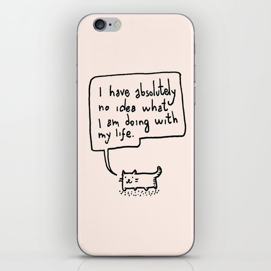 Little Cat iPhone & iPod Skin