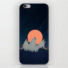 Howling Moon iPhone & iPod Skin