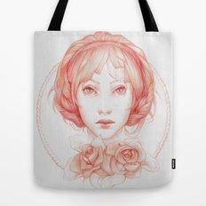 Simple Portrait Tote Bag