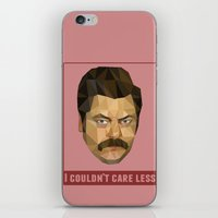 I Couldn't Care Less iPhone & iPod Skin
