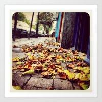 Autumn - Instagram Art Print