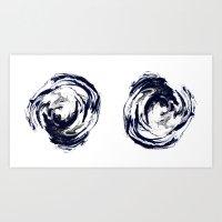 Mind Pools Art Print