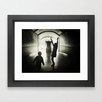 Yeah!  Framed Art Print