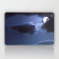 Moon Behind Cloud Laptop & iPad Skin