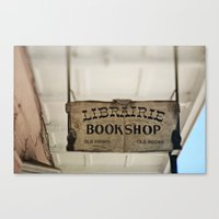 Librairie Bookshop Canvas Print