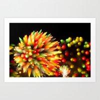 Efflorescence 27 Art Print